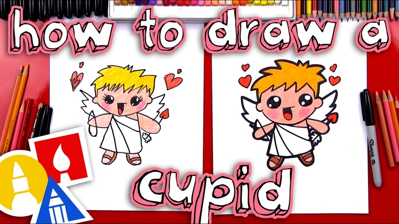 How To Draw A Valentines Cupid