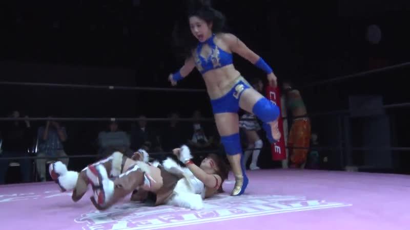 Nodoka Tenma Yuki Aino Reika Saiki vs Shoko Nakajima Yuka Sakazaki Mizuki TJP How Do You Like Osaka