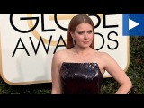 Beautiful in black! Amy Adams stuns in dark at Golden Globes