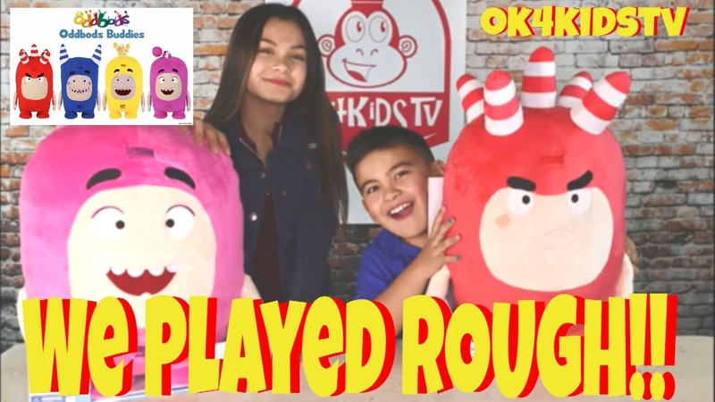 We Wrested Dropped and Roughhoused Oddbods Buddies really bad ok4kidstv video 244