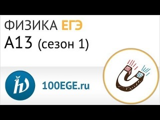 Подготовка к ЕГЭ по физике: разбор задания A13 (#1)