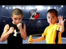 Baby Bruce Lee vs Baby Mike Tyson - Kung Fu vs Boxing Workout Motivation 2018