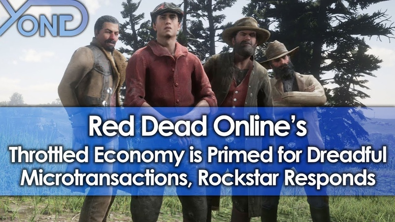Red Dead Onlines Throttled Economy is Primed for Dreadful Microtransactions, Rockstar Responds
