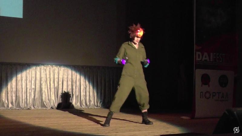 Tsunayoshi Sawada – Katekyo Hitman REBORN! (Одиночное дефиле Восток) - Дай-Фест XII 2018