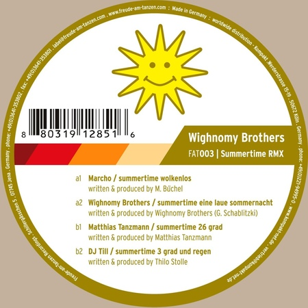 Wighnomy Brothers - Summertime (Matthias Tanzmann 26 Grad Remix)