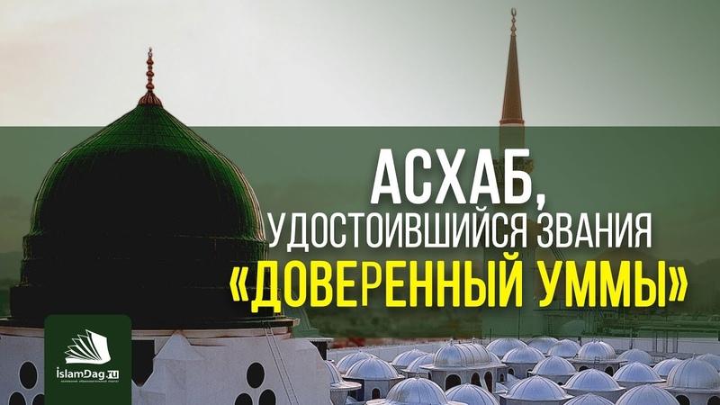 Асхаб, удостоившийся звания «Доверенный уммы» | islamdag.ru
