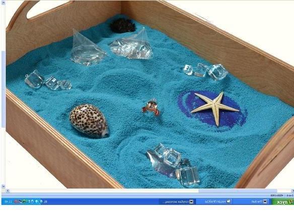 песочная терапия - море