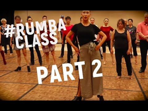 Rumba Hip action | Tutorial | Anna Kovalova | Lecture series Pt.2