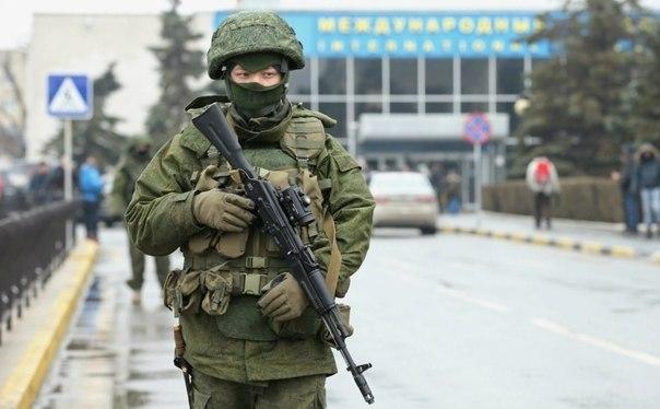 التصعيد العسكري الروسي بشبه جزيرة القرم الأوكرانية  GLIA0cPbhYs