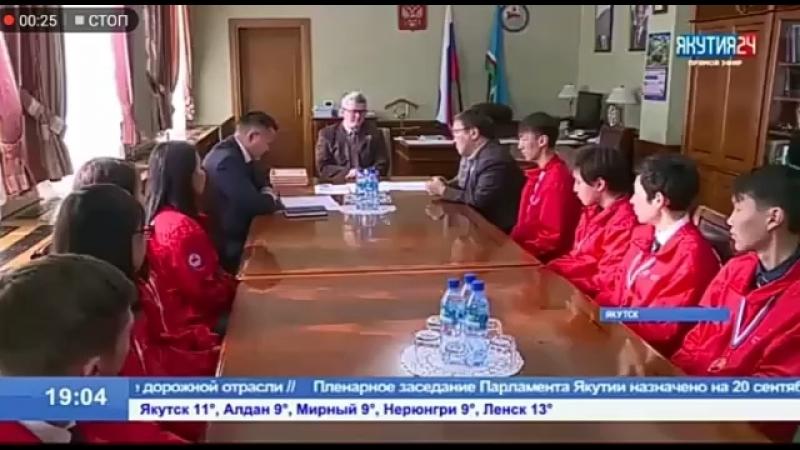 Владимир Солодов встретился с финалистами чемпионата WorldSkills Russia