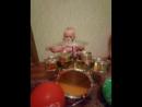 наш юный барабанщик