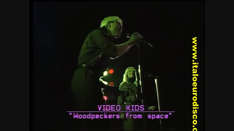 VIDEO KIDS - Woodpeckers From Space (Angel Casas Show 1985)