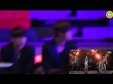 Jungkook and V BTS Reaction 2NE1's Fire MAMA 2015