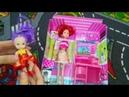Видеообзор игрушек,обзор и распаковка мебели дя кукол.Школьный набор