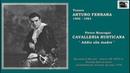 """Tenore ARTURO FERRARA - Cavalleria Rusticana """"Addio alla madre"""""""