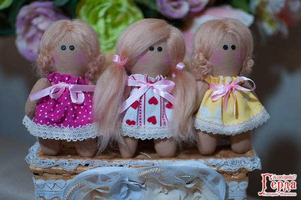 Куколки в кармашек рост 10см. (1 фото) - картинка