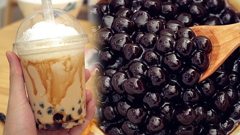 Tapioca Pearls Recipe Bubble Tea - タピオカミルクティの作り方