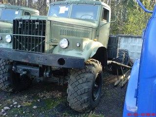 КРАЗ 255 седельный тягач.