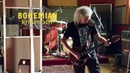 Brian May Plays Bohemian Rhapsody Guitar Solo On Movie Set Gwilym Lee Rami Malek