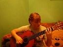 На гитаре Король и Шут Счастье