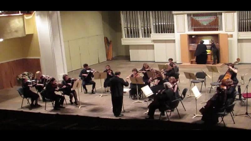 Й. Гайдн Концерт C dur для органа и камерного оркестра