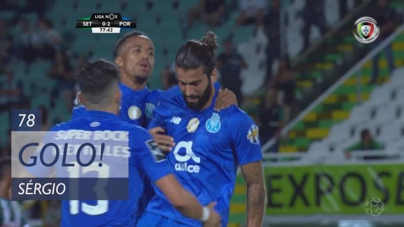 Гол Сержиу Оливейры (78 минута, Витория Сетубал – Порту 02)