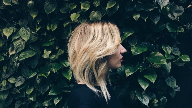 How to cut long bob womens haircut with line and layers technique