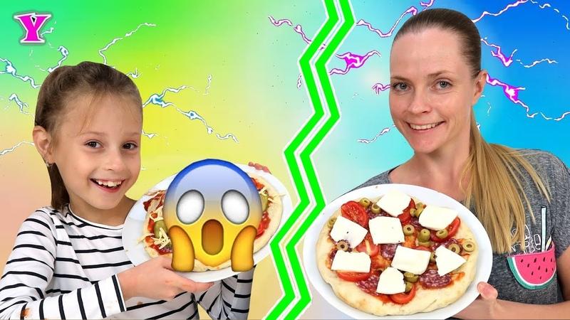 ТЕЛЕПАТИЯ Пицца Челлендж TWIN 👽👽 TELEPATHY PIZZA 🍕 CHALLENGE