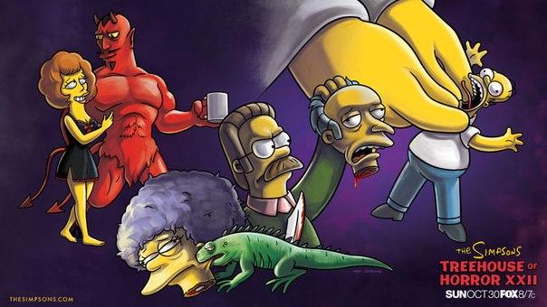 Картинки симпсоны ужасы, специальная подборка для simpsonzona.ru