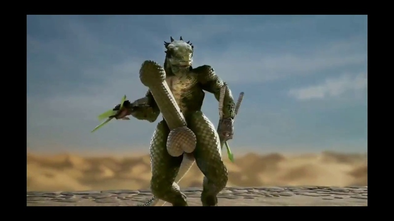 Soul Calibur 6 Lizardman on Viagra.