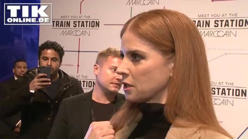 Sarah Rafferty on Fashion Show Berlin 2019