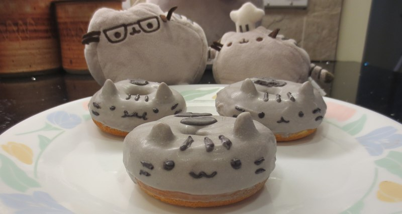 D I Y Pusheen Doughnuts Сделай сам Пончики Пушин
