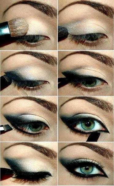 Вечерний макияж пастельных оттенков