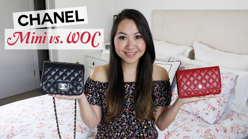 Chanel Square Mini and WOC Comparison and Review