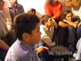 Владимир Ланцберг в Иерусалиме. 30.10.1999