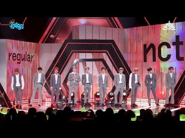 [예능연구소 직캠] 엔시티 127 레귤러 @쇼!음악중심_20181013 Regular NCT 127 in 4K