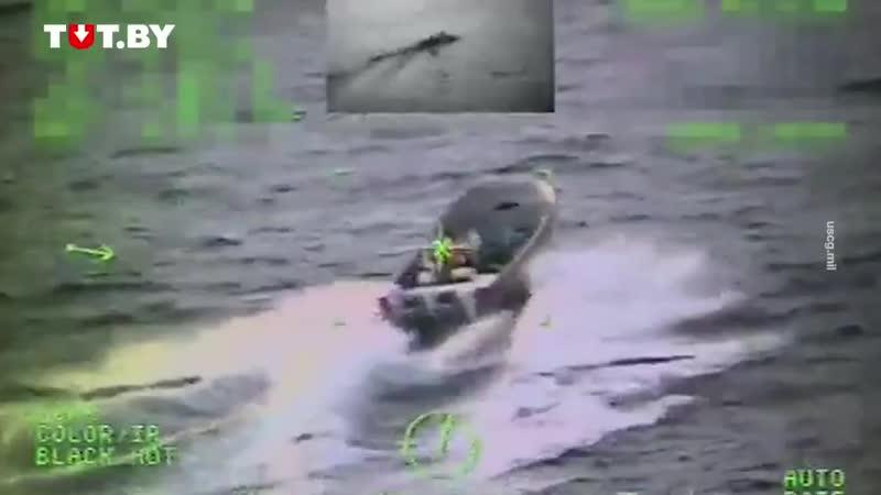 Штурм береговой охраны США полупогружной субмарины с 7 тоннами кокаина Где то в ГосДуре mp4