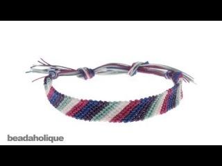Фенечка. Браслет дружбы. Мастер-класс \ How to Make a Friendship Bracelet