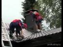 Монтаж металлочерепицы Ruukki с профилем Монтерей - видео-инструкция