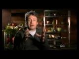 Jamie Oliver - демострирует как для компании Макдональд изготавливают фарш из остатков мяса (жира, кожи и внутренних органов) с использованием аммония