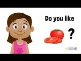 Do You Like..? Yes, I do/No, I don't (food)