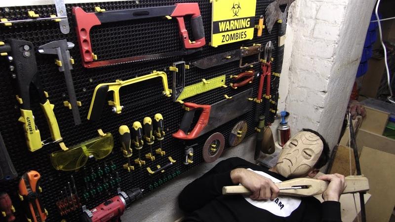 Крутая панель для инструмента и верстак в мастерскую своими руками