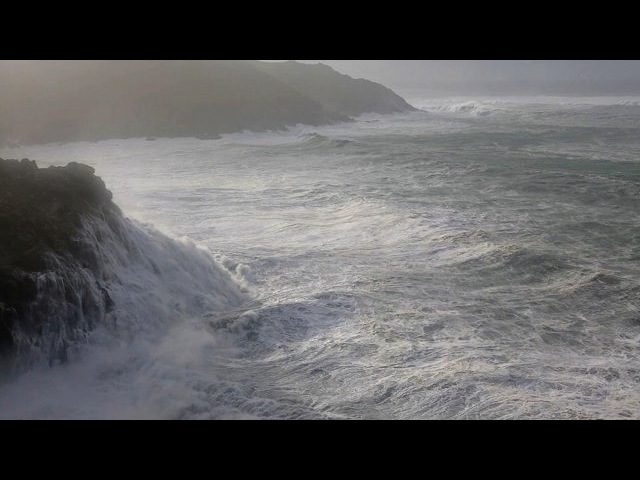 Winter Storm Hercules (06/01/2014) Cornwall