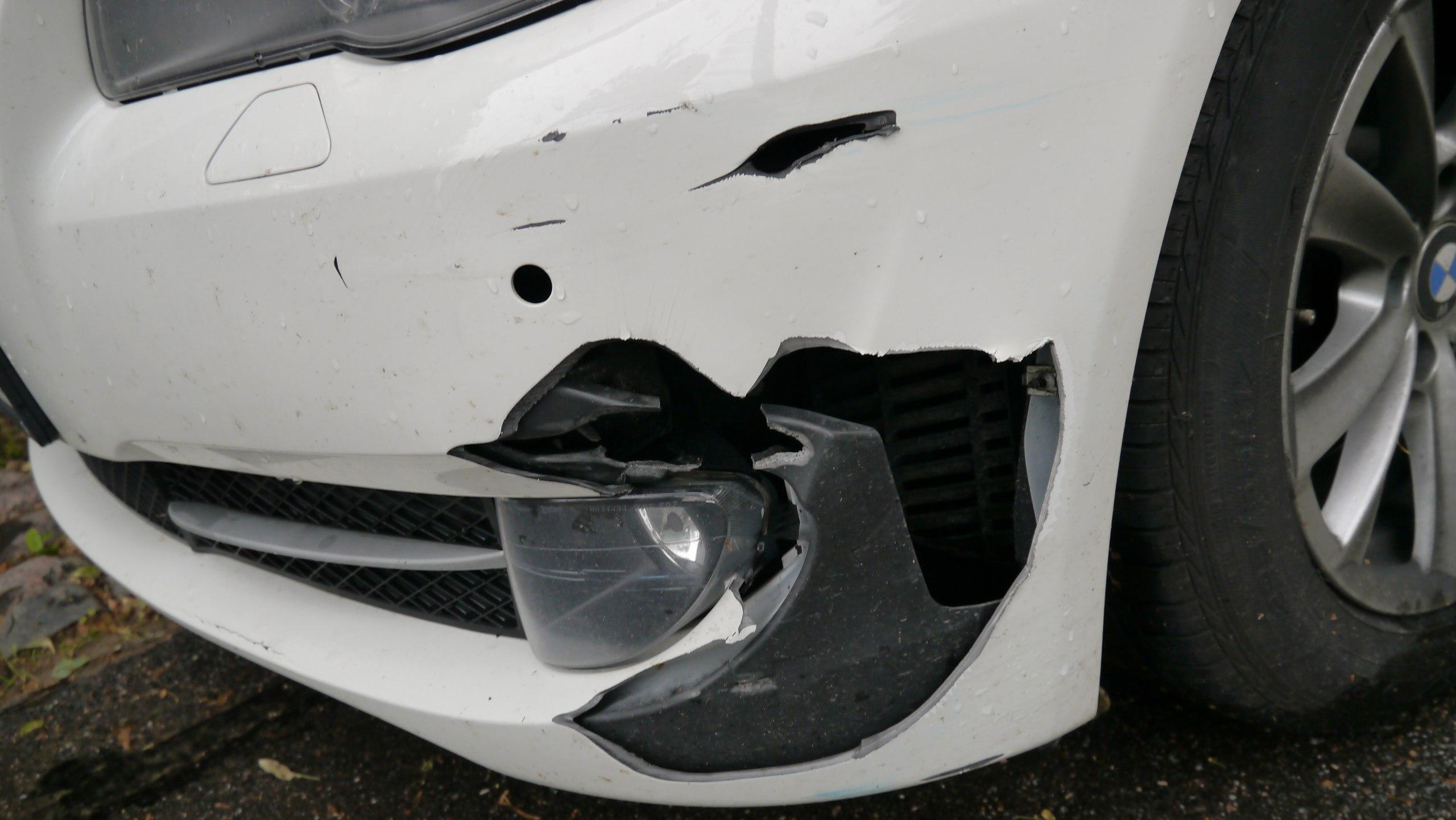 BMW 5 2012 дешевый бампер