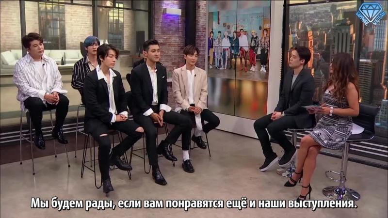 [Sapphire SubTeam] 180731 Интервью PeopleVIP с Super Junior (рус.саб)
