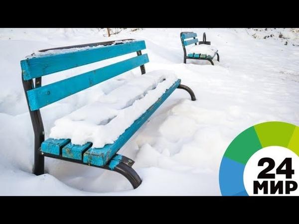 Погода в столицах СНГ: рекордный мороз в Москве, дождь в Баку - МИР 24