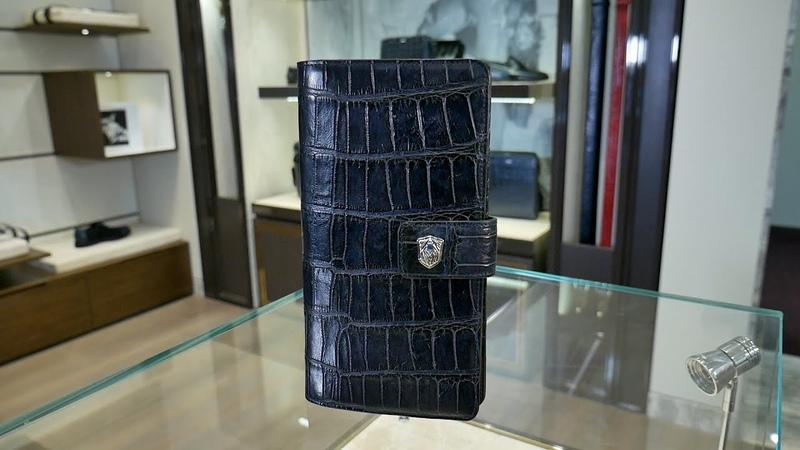 Мужской бумажник от TARDINI кожа аллигатора review ID 160014