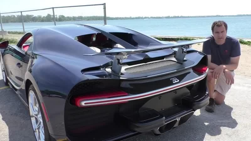 Почему Bugatti Chiron стоит таких денег?
