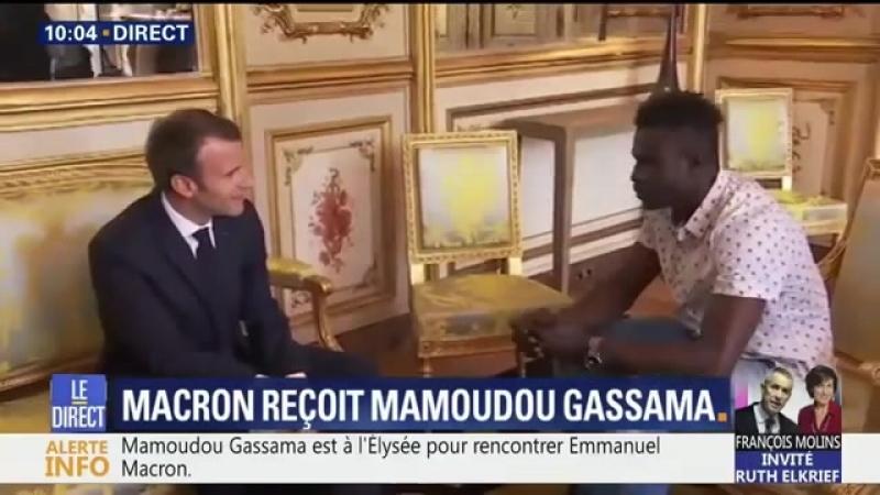 Mamoudou en off Jai limpression de me faire baiser .Tout juste devenu Français Mamadou a les mêmes impression que cest compa
