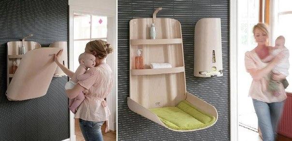 Удобный стол для пеленания